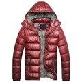 Nova marca Homens Jaqueta de Inverno do revestimento do Revestimento Quente Casacos de inverno Parka Homens jaqueta masculina dos homens casacos e jaquetas