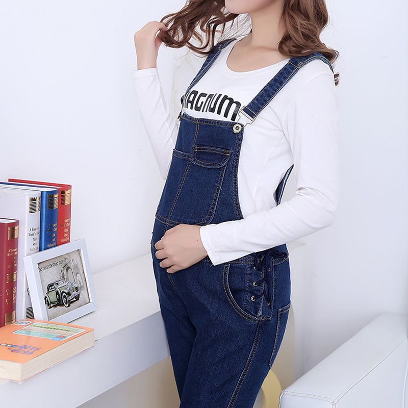 New Jeans Maternity Pants for Pregnant Women Femme Enceinte Overalls Trousers Prop Belly Legging Pregnancy Clothing Hamile M-4XL woman fashion slim solid knee distrressed maternity wear jeans premama pregnancy prop belly adjustable pants for women c73