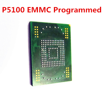 1pcs eMMC memory flash NAND programmed with firmware for Samsung Galaxy Tab 2 10.1 P5100 16GB N7000