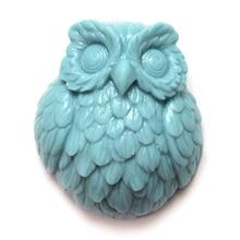 Nicole R1260 Owl Shape Silicone Soap Mold Handmade Mould