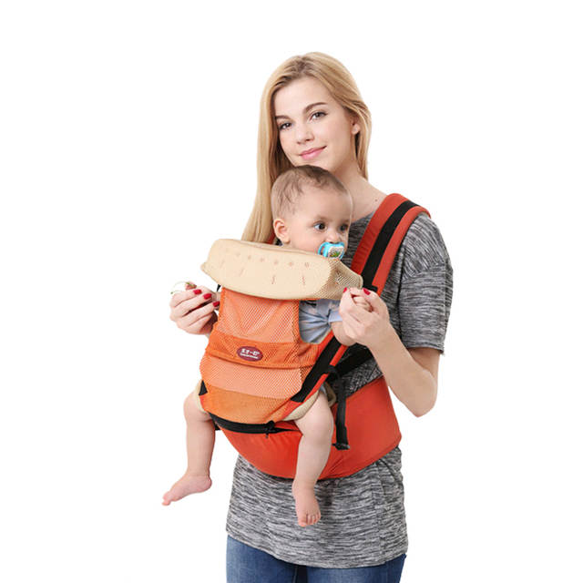 7f26b86f526 0-36m infant toddler ergonomic baby carrier sling backpack bag gear with hipseat  wrap newborn