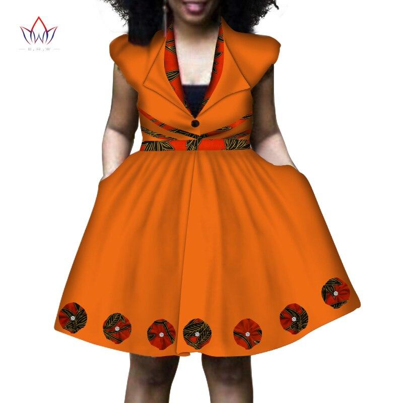 e3e4f8d9d Africana 14 4 longitud Ropa Mujeres Rodilla Las 17 7 Wy821 6 Plus Vestidos  Vestido Tamaño ...