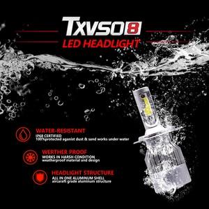 Image 3 - H1 H3 H7 LED Headlight Bulb Car Light H13 H27 880 5202 9004 9007 hb4 9006 9005 hb3 Lamp Luces Led h4 para Auto Fog H11 6000K 12V