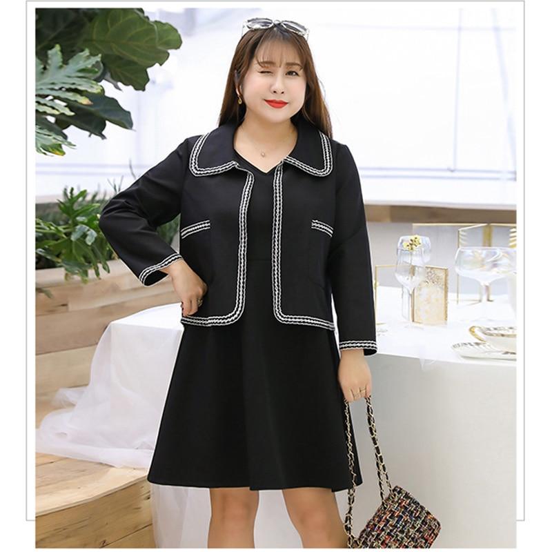 e3d7d3483 CXQ-37-ropa-para-mujer -2019-coreano-plus-tama-o-nuevo-rayas-vestido-sexy-o-Cuello.jpg