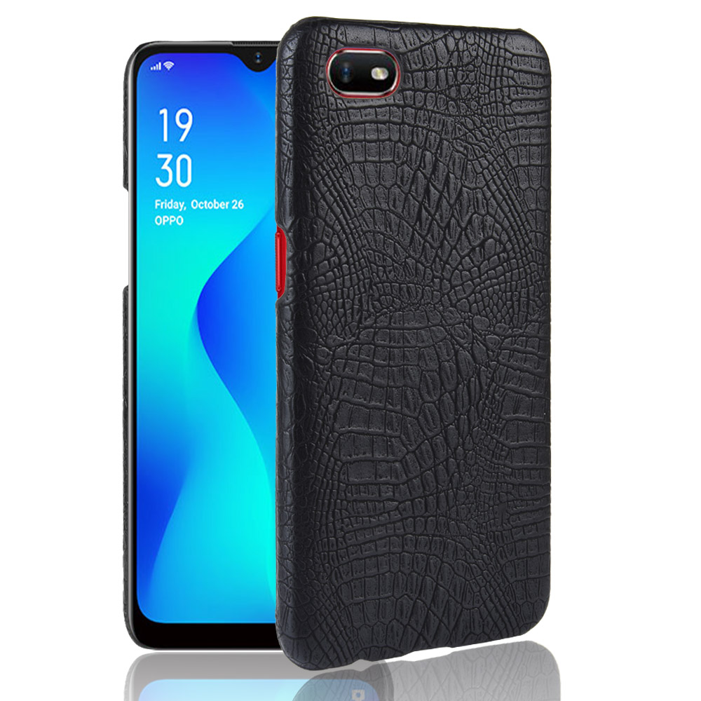 Crocodile skin texture PU Leather Hard Phone <font><b>case</b></font> for <font><b>Oppo</b></font> A59 <font><b>A35</b></font> A77 A75 A73 A79 A83 A1 A5 A3S A7X A7 A5S AX5S A9 A1K image