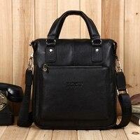 2018 Genuine Leather Bostanten New Real Cowhide Men's Bag Good Qulity Business Messenger Shoulder Briefcase Handbag Tote Laptop