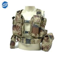 Molle Tactical Hunting Vest Body Armor Hunting Plate Carrier Airsoft Pouch Emerson Combat Gear Multicam Nylon Camo Vest