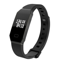 NBS01 Black Smart Bracelet Blood Pressure  Heart Rate Sleep Monitor  Smart Watch Sport pedometer Caculation Luxury Smart Watch