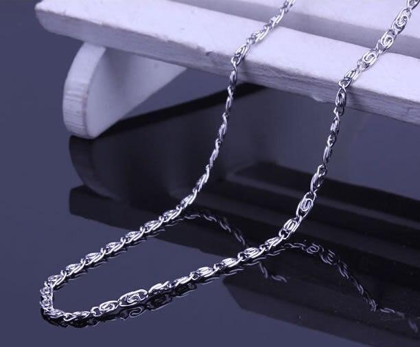 6fe003035d82 Envío libre 2mm plata color personalidad mariposa cadena collar 316L Acero  inoxidable nunca se desvanecen collares joyería