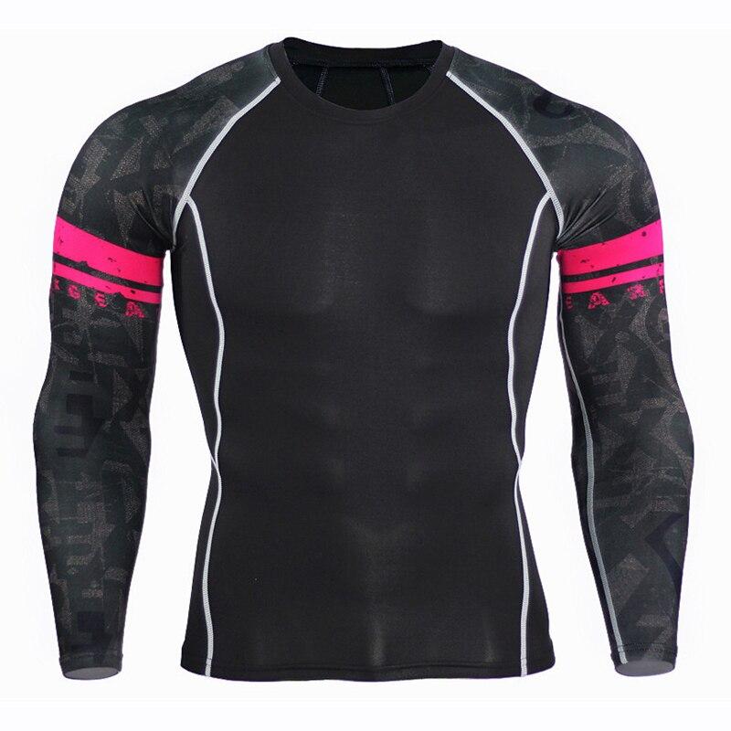 Crossfit kläder manar kompressionstrumpor T-shirts Fitness - Herrkläder - Foto 5