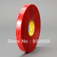 1/2 in X36YD 3M VHB tape 4905 Clear for glass doors/skylights,0.5mm,Free shipping
