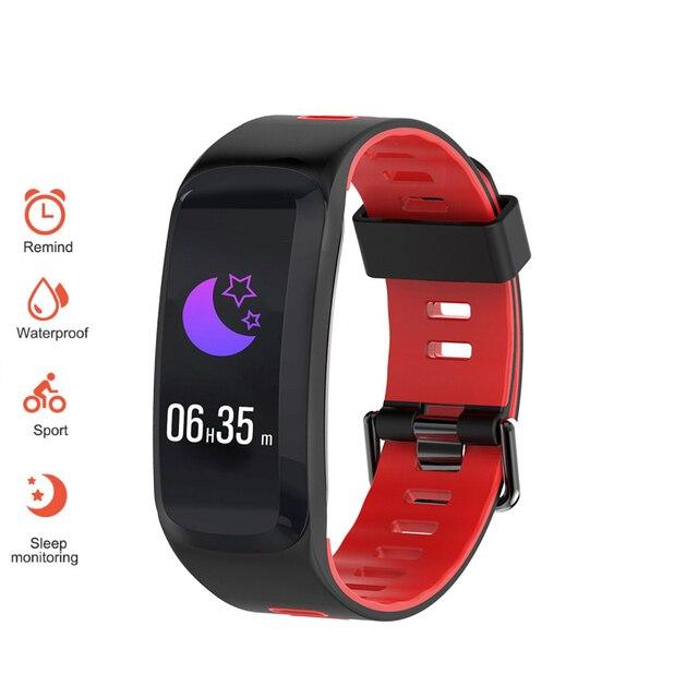 Top Brand REBIRTH Bluetooth Smart Watch Waterproof Sport Bracelet Wristwatch Sleep Heart Rate Monitor Clock For Android IOS