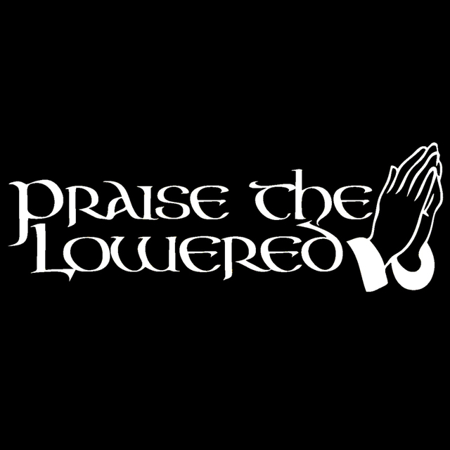Praise the lowered car styling sticker funny jdm low car truck window vinyl graphics decals jdm