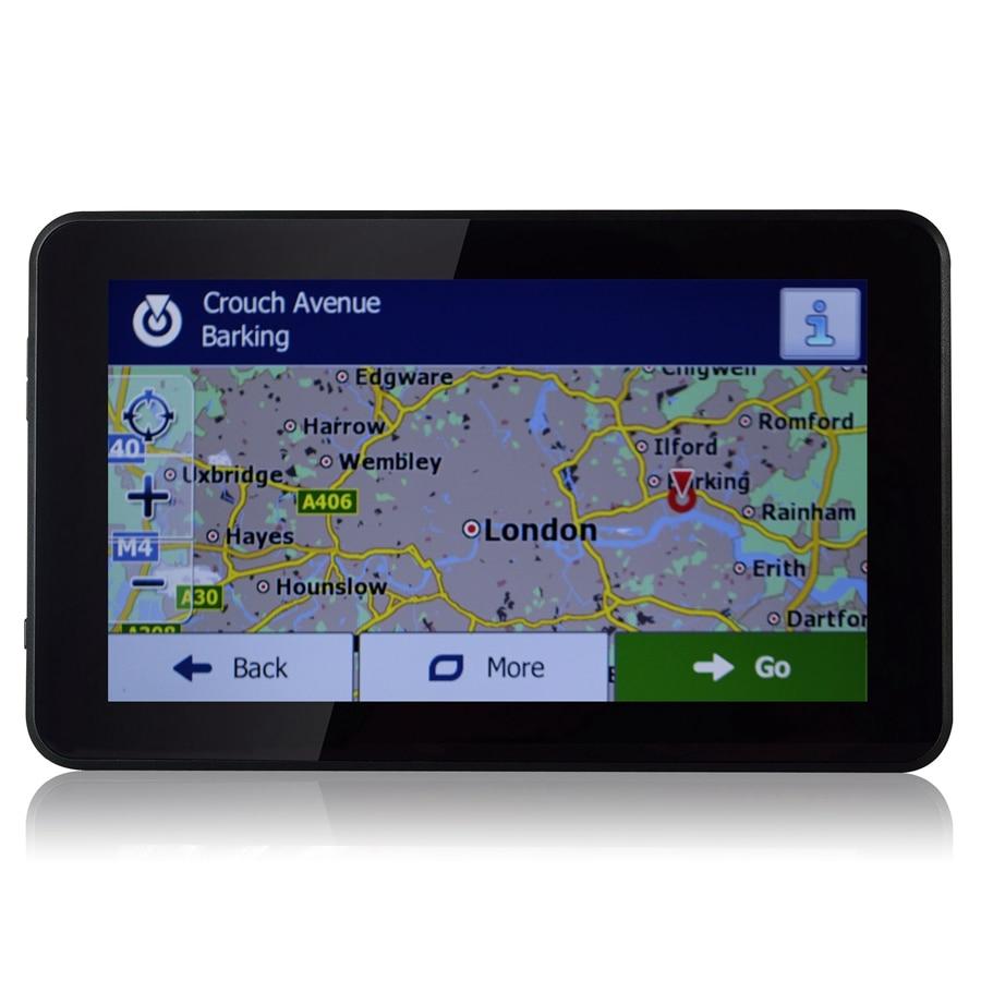 Udricare 7 дюймов GPS навигация Android-Автомобильный грузовик GPS навигация 16 ГБ allwinner А33 четырехъядерный Беспроводной доступ в Интернет и GPS