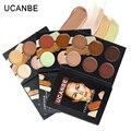 UCANBE Профессиональная Косметика для лица 6 цветов контур крем Макияж корректор Камуфляж фонд база грунтовка палитра контурная