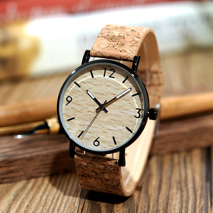 Image 3 - BOBO BIRD montres à Quartz pour hommes, avec cadran en liège souple, Grain de bois, comme article cadeau, boîte en acier inoxydable