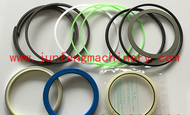 US $220 0 |PC180 6 BOOM ARM BUCKET HYDRAULIC CYLINDER CYL CYL' SEAL KIT FIT  FOR KOMATSU EXCAVATOR DIGGER PARTS-in Seals from Automobiles & Motorcycles