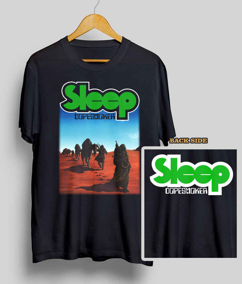 Detail Feedback Questions about SLEEP DOPESMOKER CD COVER T SHIRT