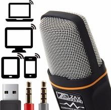 Profissional Cardióide Condensador USB Microfone Com Tripé Suporte para PC Portátil iPhone iPad Android Phones Tablets xBox YouTube
