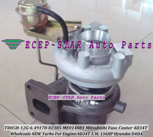 TD05H-14G-6 49178-02385 28230-45000 49178-03122 49178-03123 Turbo Turbocharger For Mitsubishi Fuso Canter 4D34T D4DA 3.9L 136HP
