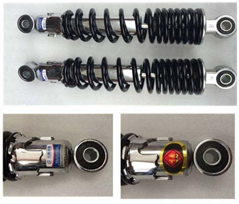 Authentic southern Sichuan JH125 damping shock absorber of motorcycle rear shock absorber WY125-A southern ghost