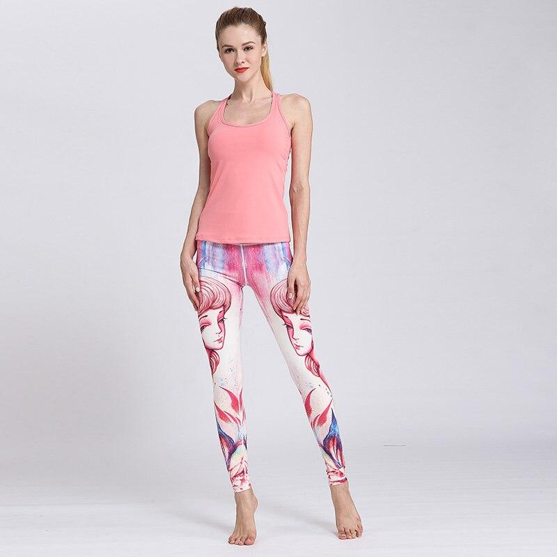 ★  Bgsolid женские спортивные брюки колготки 12 созвездие печати йога брюки женские повседневные спорти ①