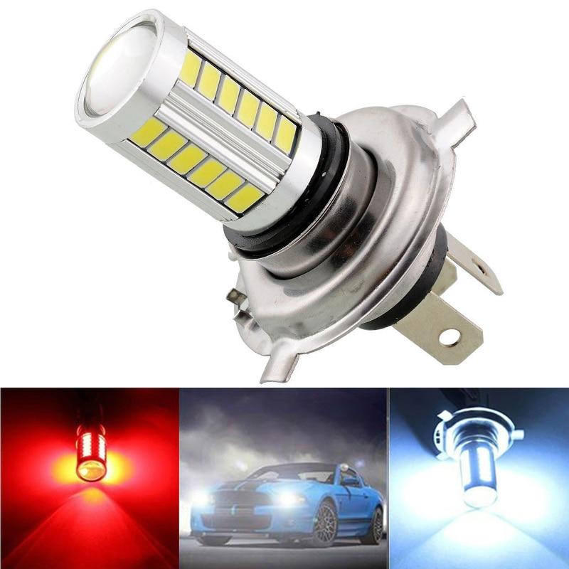 H4 Super Bright Fog Light Headlight Bulb 12W Car Head Lamp Light Car Styling Car Light Source Parking Light