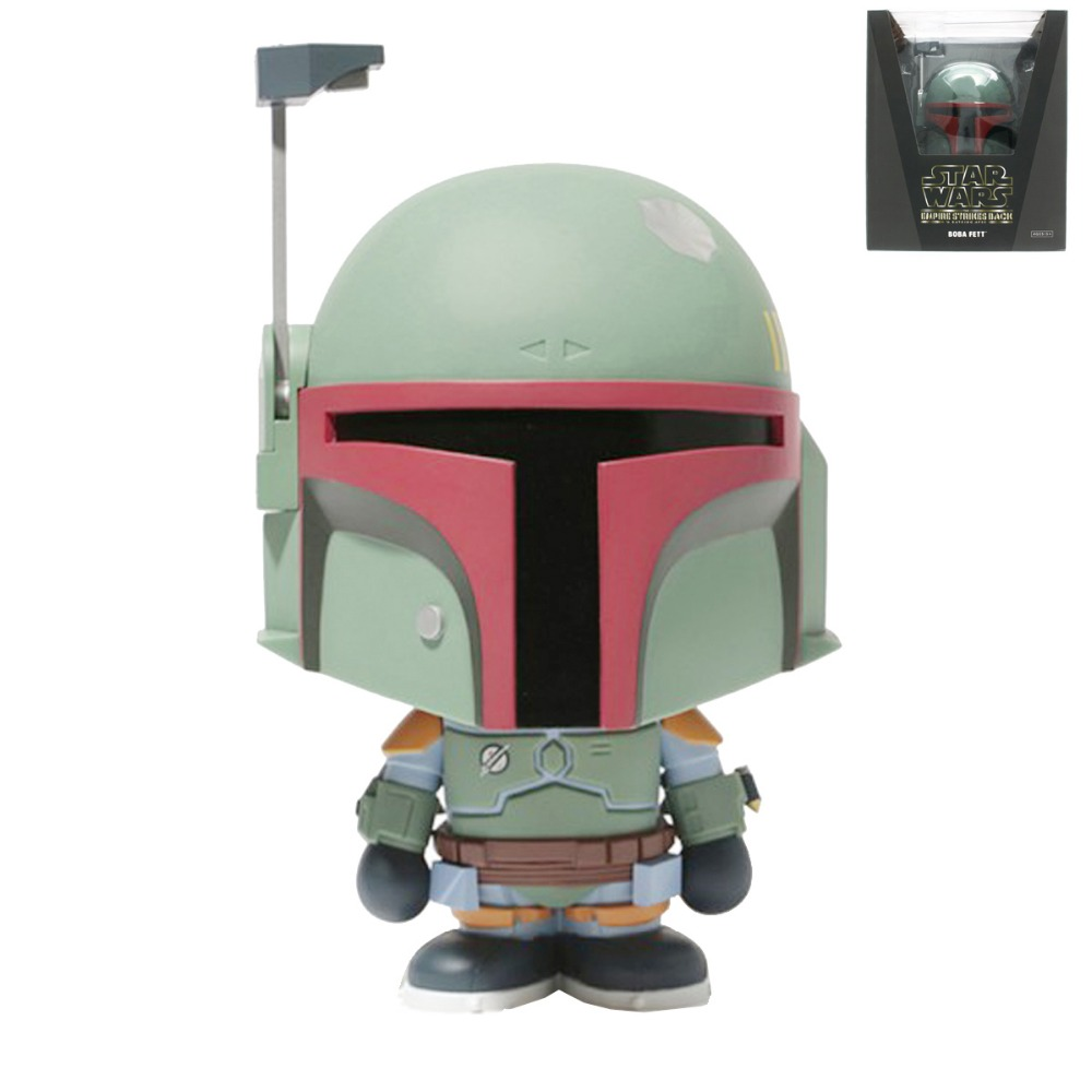 Movie Return of The Jedi Boba Fett Figure Vinyl Collectible Dolls Free Shipping new latest design cool boba fett figure model home decoration of the desktop decoration
