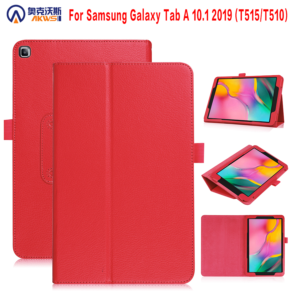 Walkers tablet cover <font><b>case</b></font> for 2019 Samsung Galaxy Tab A 10.1 <font><b>SM</b></font>-T515 <font><b>T510</b></font> Universal Tablet <font><b>Case</b></font> Magnetic Cover with Rotating image