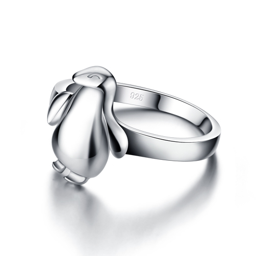 Women 925 pure sliver ring;925Sterling silver; Korean Hot Ring;Sweet and lovely;Acceptable wholesale;