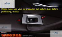 For BMW 5 series F10 2011 2014 Stainless Steel Window Lift Switch Button Cover Trim 4pcs / set / 3color For Choice!