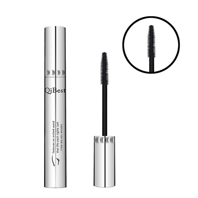 Qibest 24 Hours Mascara Brand New Makeup Mascara Volume Express False Eyelashes Make Up Waterproof Eyes Mascara Black 3