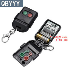QBYYY 2pcs Singapore malaysia 5326 330mhz dip switch auto gate duplicate remote control key fob