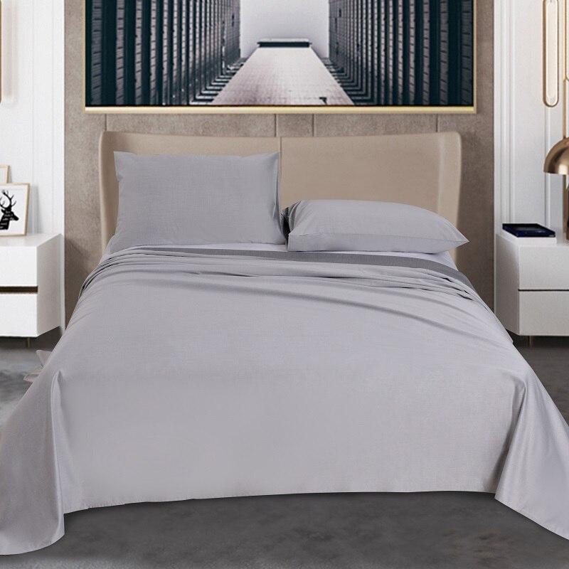 3pcs Bedroom Sheets Fiber Sheet&Pillowcase Bedsheet  Bamboo Charcoal Sets Solid Color Bedding Sets Soft Flat Sheet Pillow Case