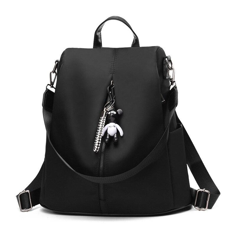 Cute Bear Shoulder Bag Backpack Female School Bags For Girls Backpacks For Women Bag Travel Shoulder Bags PU Leather Backpack women backpack women bag leather bag shoulder bag pu travel backpack
