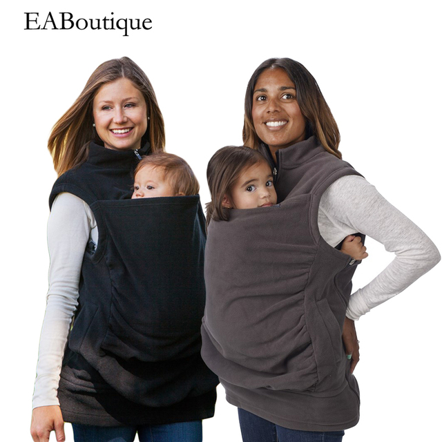 EABoutique Winter new fashion fleece Vest Maternity Carrier Baby Holder Jacket maternity coat