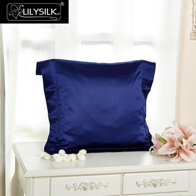 Aliexpress Buy Lilysilk 40% Pure Mulberry Silk Pillowcase 40 Inspiration Envelope Pillow Cover With Flange
