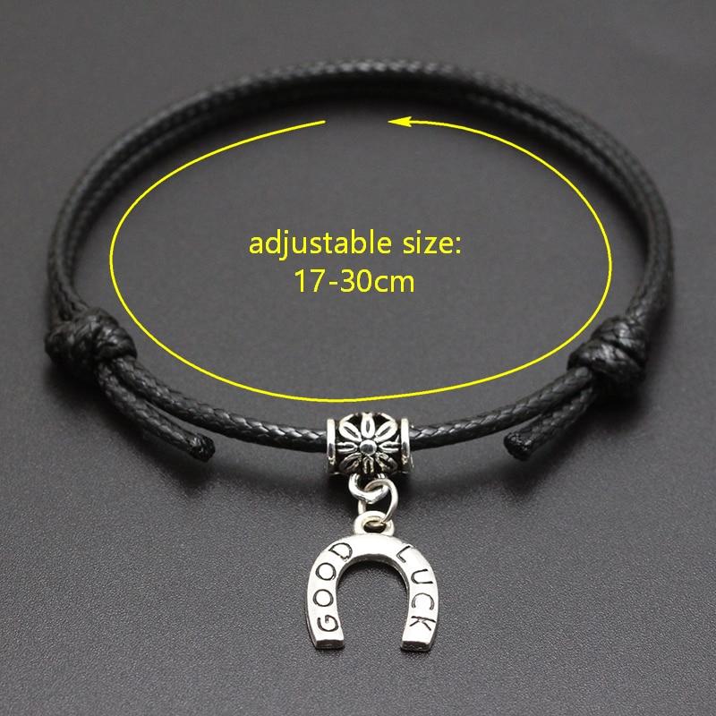2020 New Tortoise Turtle Pendant Red Thread String Bracelet Lucky Black Coffee Handmade Rope Bracelet for Women Men Jewelry
