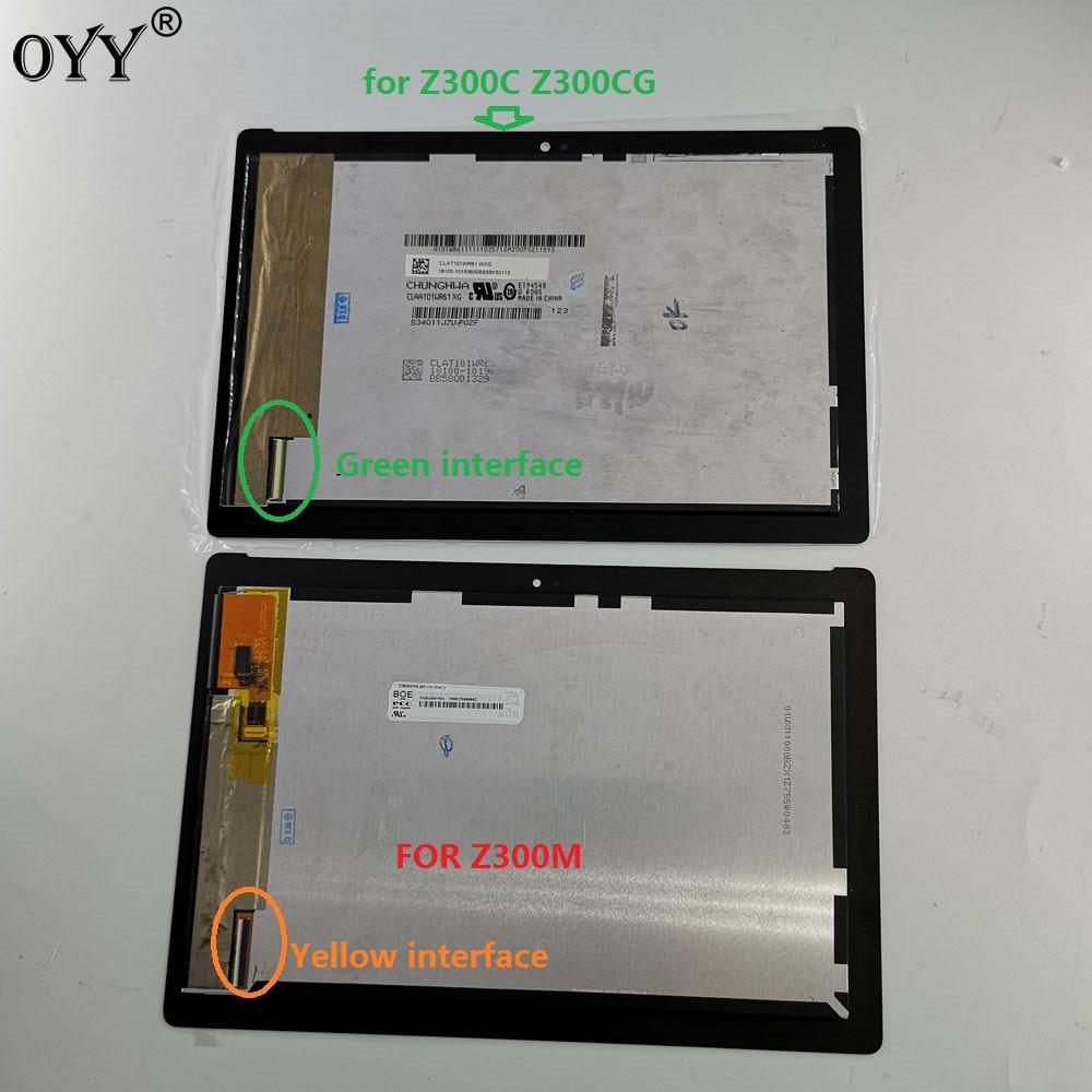 10.1 pouces Pour ASUS ZenPad 10 Z300 Z300C Z300M P00C LCD Affichage Matrice Écran Tactile Digitizer Assemblée