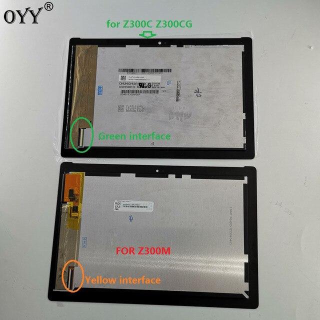 10.1 אינץ עבור ASUS ZenPad 10 Z300 Z300C Z300M P00C LCD תצוגת מטריקס מסך מגע Digitizer עצרת