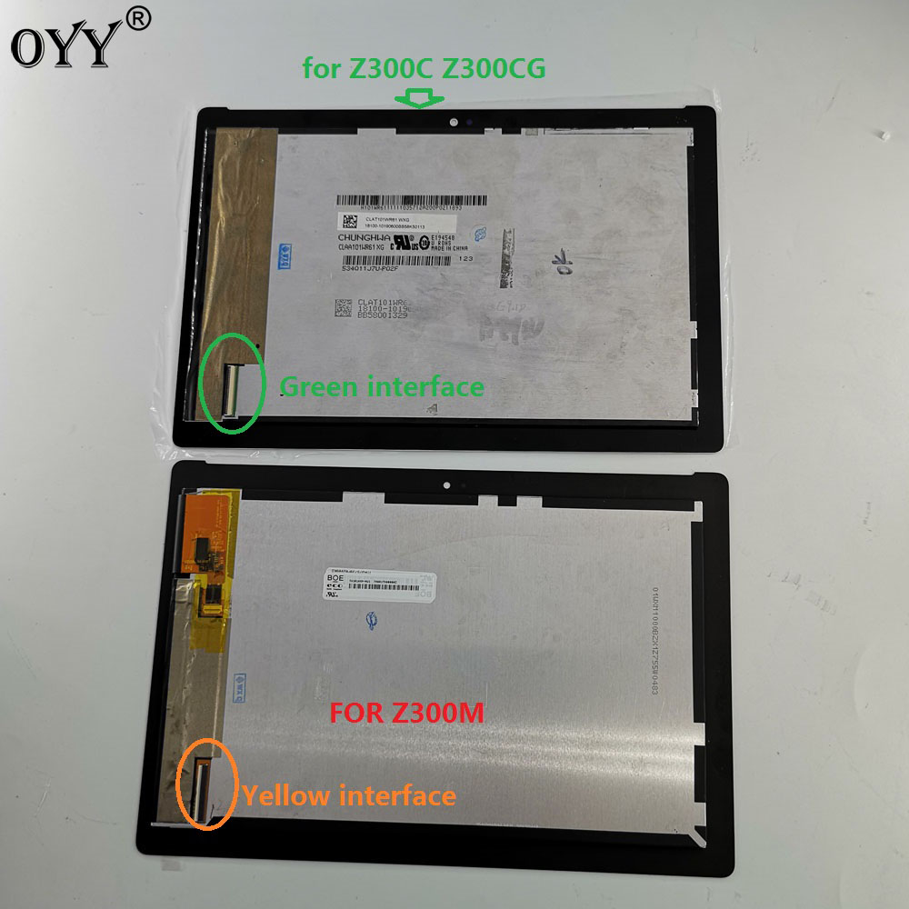 10.1 inch For ASUS ZenPad 10 Z300 Z300C Z300M P021 P00C LCD Display Matrix Touch Screen Digitizer Assembly new 10 1 inch for asus zenpad 10 asus zenpad 10 z300 z300cnl z300m z300c p01t tablet touch display lcd screen panel with frame