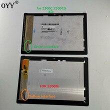 شاشة LCD رقمية 10.1 بوصة لـ ASUS ZenPad 10 Z300 Z300C Z300M P00C تجميع شاشة لمس مصفوفة