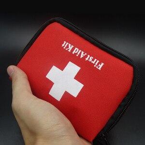 Image 3 - 11 itens/28 pçs kit de primeiros socorros de viagem portátil acampamento ao ar livre emergência médica saco bandage band aid kits de sobrevivência auto defesa