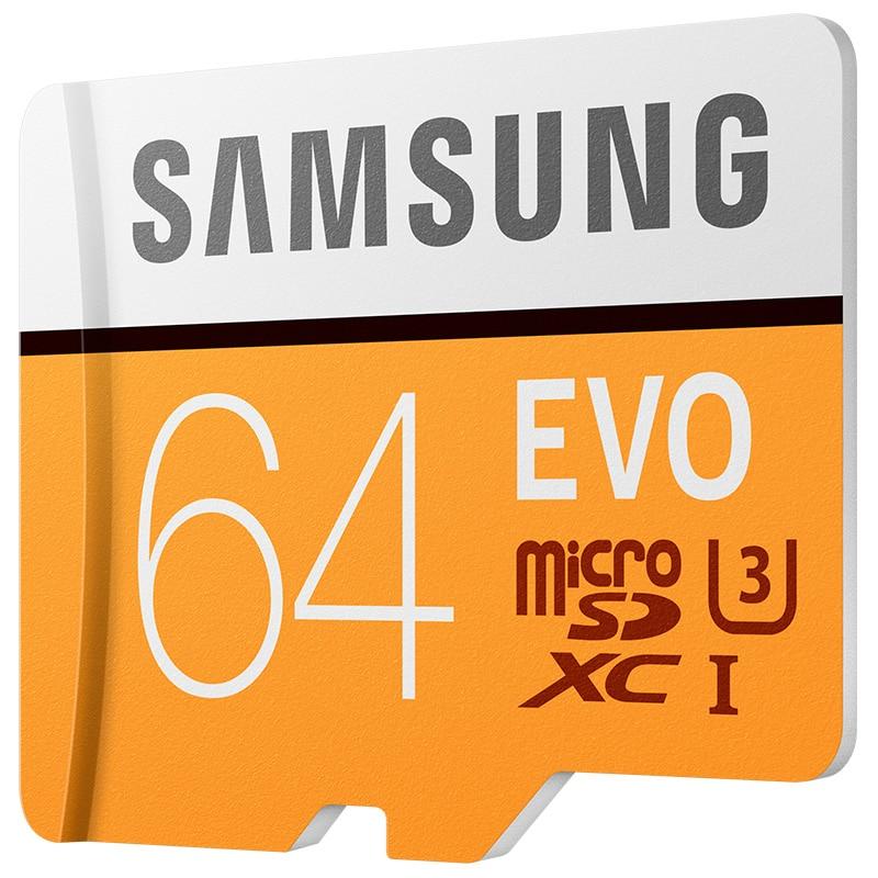 SAMSUNG Memory Card 16GB 32GB Micro SD 64GB 128GB SDHC Class 10 SDXC Grade EVO C10 4K Trans Flash 32gb Microsd card tf cards