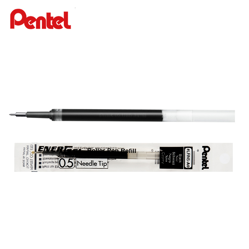 Pentel Colored Gel Pen Refill Colorful Ink Refills School Stationery Office Supplies Writing Pen Refill 0.5mm Needle Tip LRN5 цена 2017