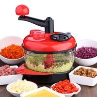 Kitchen Supplies Multi function Meat Mincer Cooking Machine Vegetable Cutter Stuffing Mixer Garlic Press Kitchen Gadgets