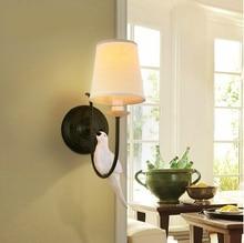 American rural idyll birds bedroom wall lamp wall lamp European art creative restoring ancient ways bedside lamp, wall lamp