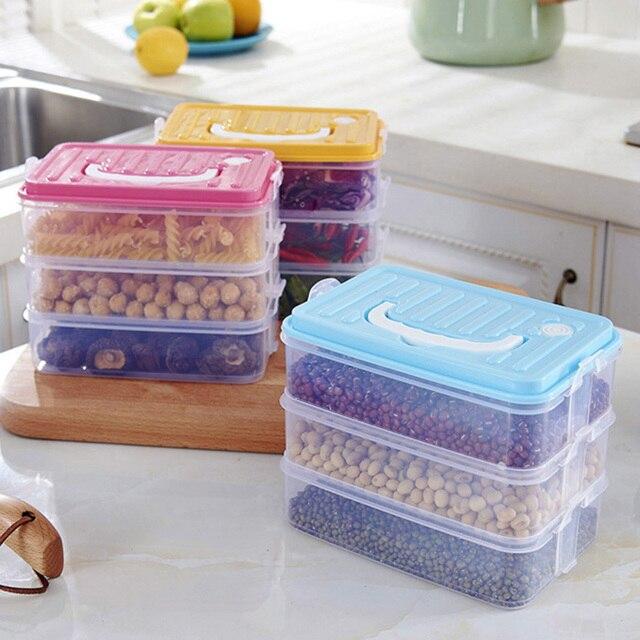 Makeup Organizer Storage Containers Refrigerator Storage Boxes