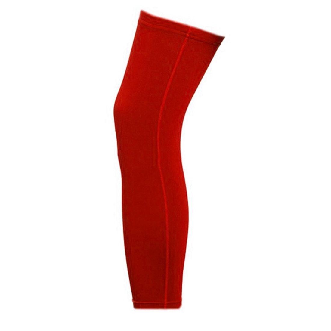 Antislip Leg Knee Protector Gear Cover Long Sleeves Sport Tight Gear Cyclist