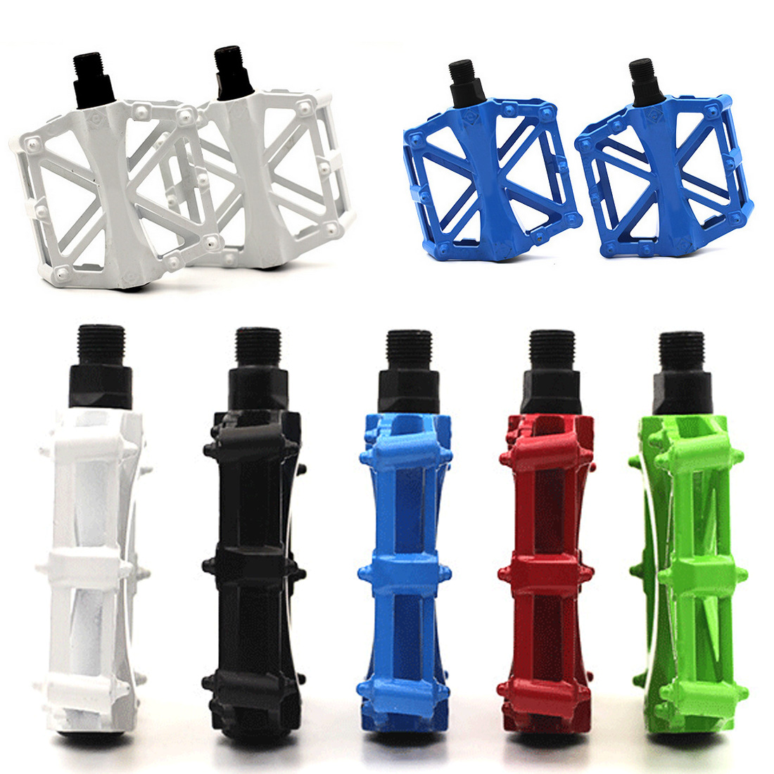 """Bicycle BMX Mountain Bike Pedal 9//16/"""" Thread Parts Super Strong Ultra-Light Plat"""